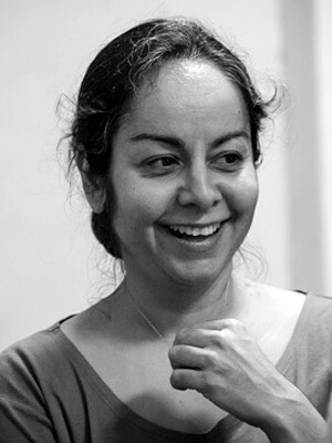 Ashtanga yoga teacher Narmin Mohammadi