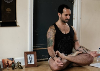 Ashtanga Yoga Teacher Greg Nardi