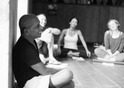 Manju Jois teaching